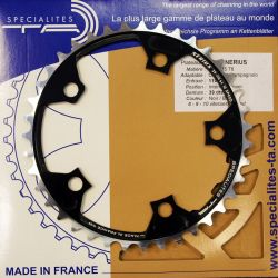 Campagnolo 34T kettingblad compact zwart Nerius TA Specialities