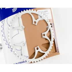 Kettingblad 50T compact zilver, TA Specialties Buitenblad BCD 110 Zephyr