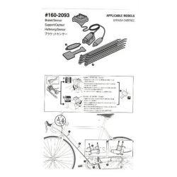 Cateye Sensor Set Cadanse Strada - #160-2093