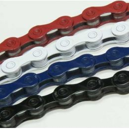 KMC 9sp Ketting X9 Color wit
