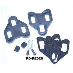 Campagnolo Schoenplaten PD-RE020 grijs (SET / met voetspeling)