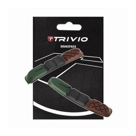 Remblokken Trivio Cartridge Set MTB 955VCR 72mm Triple