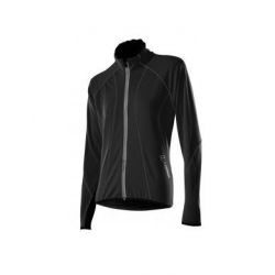 Löffler Fietsjack Dames Windstopper Soft Shell zwart - 38