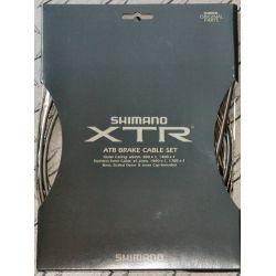 Remkabelset Shimano XTR (High Tech grijs) Y80098060