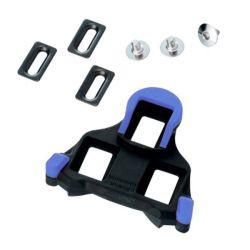 Shimano Schoenplaten SM-SH12 blauw - 2 graden voetspeling