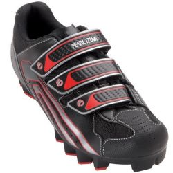 Pearl Izumi Select MTB Shoes - black/true red